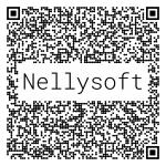 Nellysoft qr logo